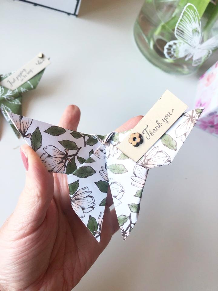 Eco conscious butterflies